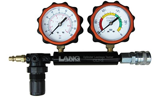 PSI Cylinder Leakage Tester with 2 Gauges ()