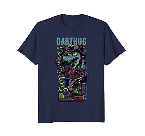STRETNORTH DABTHUG Shirt Wolf monster music headphone