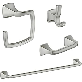 Moenl Moen Ka Vos 4 Bn Moen Voss 4 Piece Acessory Kit Brushed Nickel