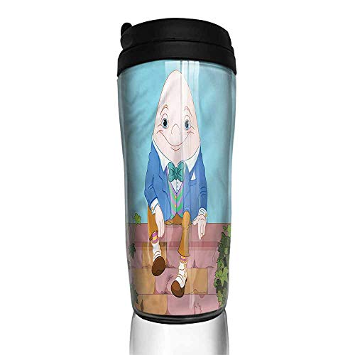 coffee cups with lids Alice in Wonderland,Egg on a Wall 12 oz,coffee cup curtains for kitchen windows