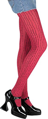 Morris Costumes Pantyhose Red Barbed Wire