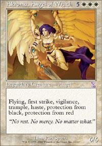 Magic: the Gathering - Akroma, Angel of Wrath - Timeshifted