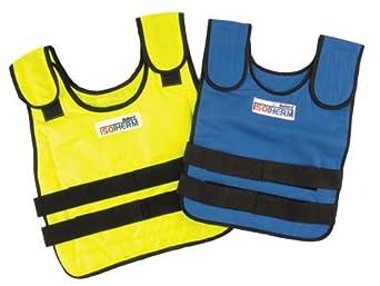 Cooling Vest, XL, Blue, 18 In. L