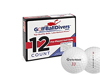 24 TaylorMade Project (a) - Value (AAA) Grade - Recycled (Used) Golf Balls