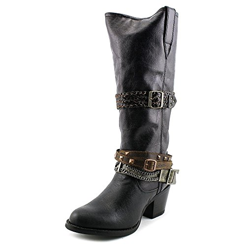 Durango Women's 14'' Philly Accessorized Western Dress Boots, Black Leather, 8.5 ()