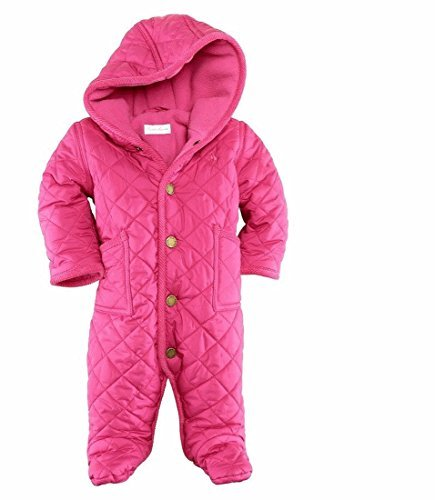 Ralph Lauren 'Barn' Quilted Bunting (Infant) Girl's 6 Months