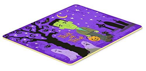 Caroline's Treasures Halloween Frankie Frankenstein Kitchen or Bath Mat 20x30, 20Hx30W, Multicolor