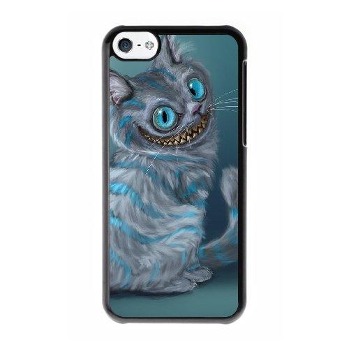 Coque,Coque iphone 5C Case Coque, Cheshire Cat Cover For Coque iphone 5C Cell Phone Case Cover Noir
