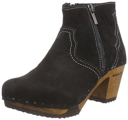 WoodyLina - botas Mujer Negro - negro