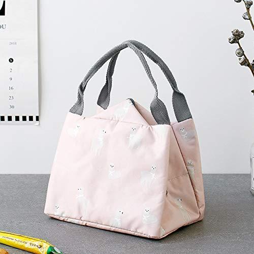 Buy Sac Étanche Lunch D'isolation Rangement Joyfeel À Gris Portable Flamingo Aluminium Toile De aRxqWFO