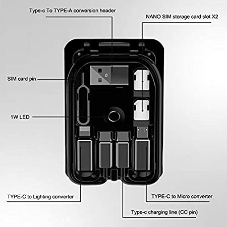 Baifeng Multi-function Universal Smart Adaptor Card Storage Box Normal Version