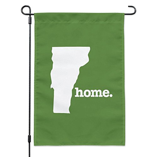 Graphics and More Vermont VT Home State Solid Green Official