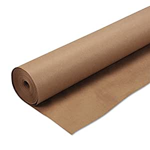 Pacon Natural Kraft Heavyweight Paper Roll, 4-Feet by 200-Feet (5850)