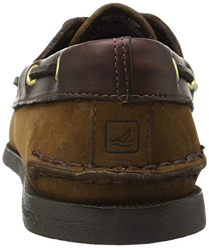 Brown Medium uomo Sperry Brown Sider Buck Sandali con Zeppa Top wqn8azF6q