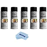 Atmosphere Aerosol 5 x 8oz Haze/Fog Spray for Photographers and Filmmakers With Microfiber Cloth