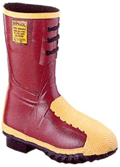 Honeywell Safety 2165-13 Ranger Flex-Guard Safety Mid Pac for Men's, Size-13, Red by Honeywell