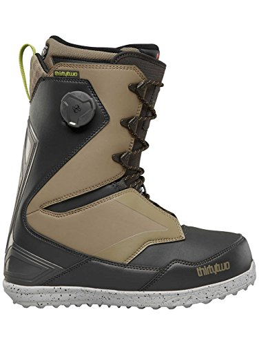 Lock Snowboard Boa Boots - Thirty Two Session Snowboard Boot 2018 - Men's Black/Tan 11