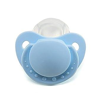 LittleForBig - Chupete para adultos Baby ABDL, color azul