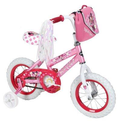 """Huffy Girl's 12"""" Disney Minnie Mouse Road Bike"""