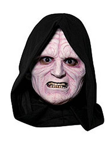 Star Wars Emperor Palpatine 3/4 Mask Costume -