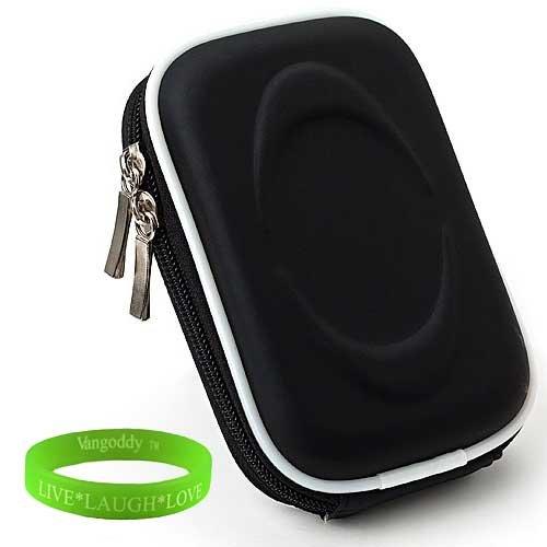 S4100 Pocket - Black slim camera case for your Nikon COOLPIX S70 S100 S2600 S3000 S3100 S3200 S3300 S4000 S4100 S4200 S4300 S6200 S6300