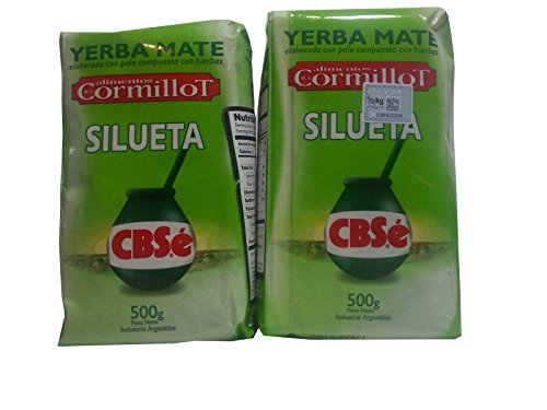 Amazon.com : YERBA MATE CBSE SILHOUETTE - SILUETA - APPETITE SUPRESSANT 500 GR/1.1 LB (2 PACK) : Grocery & Gourmet Food