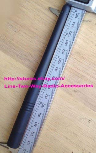GSTZ 5X 6.1 Inch VHF Antenna for Vertex Standard VX-979 VX-974 VX-971 VX-929 VX-924 VX-920 VX-900 VX-829 VX-824 VX-821 VX-820 VX-800 VX-600 VX-424 VX-420 VX-414 VX-410 VX-351 VX-230 Portable Radios