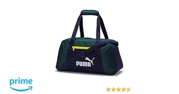658e3250d Puma Phase Sports Bag Bolsa Deporte, Unisex Adulto, Verde (Ponderosa Pine/ Peacoat), OSFA: Amazon.es: Deportes y aire libre