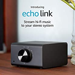 Echo Link | Stream hi-fi music to your stereo system (requires compatible Echo device for Alexa voice control)