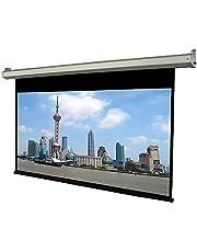 شاشة عرض كهربائية تعمل بالموتور شاملة ريموت سلكى واخر لاسلكى اسود مقاس 200×200 سم
