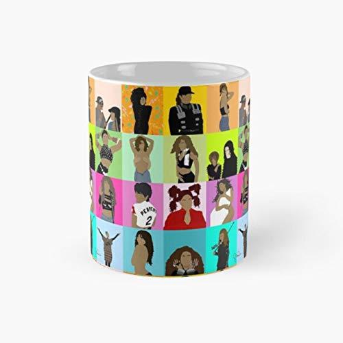 collage. #1651artseries Mug, janet jackson Cup, 11 Ounce Ceramic Mug, Perfect Novelty Gift Mug, Funny Gift Mugs, Funny Coffee Mug 11oz, Tea Cups 11oz -