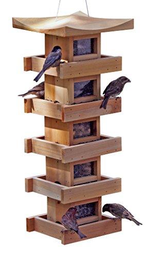 Bird Feeder 5-Level, Cedar ()