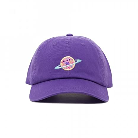b0f72a48237 Amazon.com  Donut Galaxy Embroidered Dad Cap Hat by 100% Soft  Everything  Else