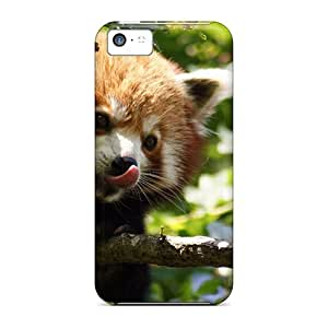 New Snap-on Jeffrehing Skin Case Cover Compatible With Iphone 5c- Red Panda