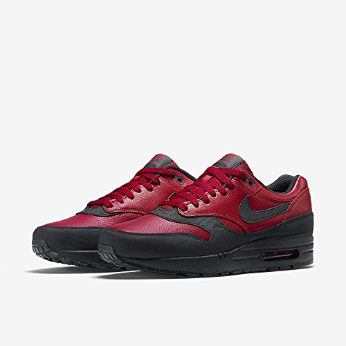 Nike AIR MAX 1 LTR PREMIUM mens fashion-sneakers 705282-600_14 - GYM RED/BLACK 96bsYN