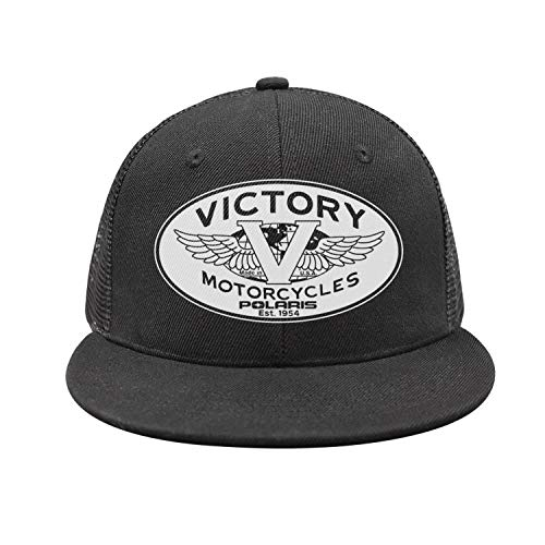(Unisex Victory-Motorcycle-Logo- Rugged Baseball Caps Classic Cool Peaked Cap)
