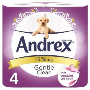 Andrex Toilet Roll - Gentle Clean - (Pack 6) by Andrex