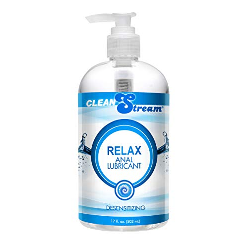 Clean Stream Relax Desensitizing Anal Lube- 17oz