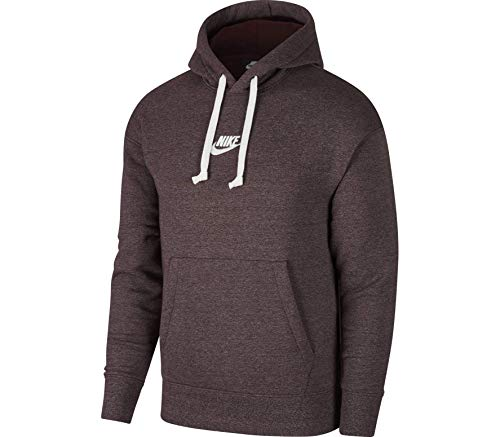 ull Over Hoodie Burgundy Crush/Heather/Sail 928437-652 Size X-Large ()