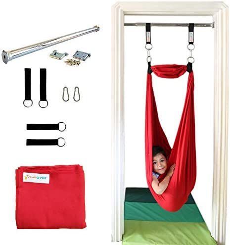 DreamGYM Sensory Doorway Swing Therapy Indoor Swing