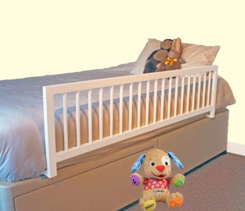 Safetots extraweites Bettgitter Weiß aus Holz