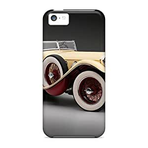 High Quality AnnetteL 1928 Mercedes 680s Saoutchik Torpedo Skin Case Cover Specially Designed For Iphone - 5c by icecream design