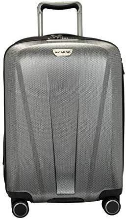 Ricardo Beverly Hills San Clemente 2.0 21-Inch Carry-On Suitcase Moon Silver