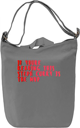 Mvp Borsa Giornaliera Canvas Canvas Day Bag| 100% Premium Cotton Canvas| DTG Printing|