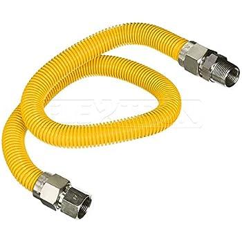 Amazon com: Dormont 0240892 Gas ApplianceConnectorKit, 48 In  Long 5