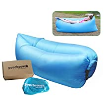 Inflatable Couch Waterproof Lounger Sofa Airbed with Carry Bag for Indoor or Outdoor Use