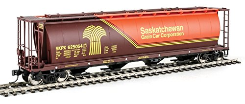 Walthers HO Scale 59' Cylindrical Covered Hopper Saskatchewan Grain SKPX (Scale Cylindrical Covered Hopper)