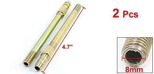 2pcs molde Macho de acoplamiento de manguera de latón Nipple 1 / 16pt Tema 4.7 Largo: Amazon.com: Industrial & Scientific