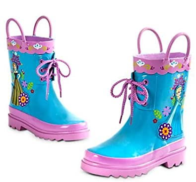 Amazon.com | Disney Frozen Frozen Rain Boots for Girls [Size 9 US ...