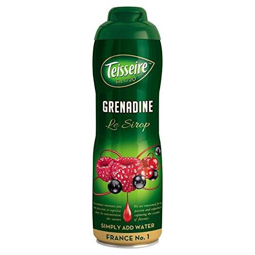 Grenadine Teisseire French Syrup Grenadine concentrate 600ml (20.3 fl oz), Grenadine